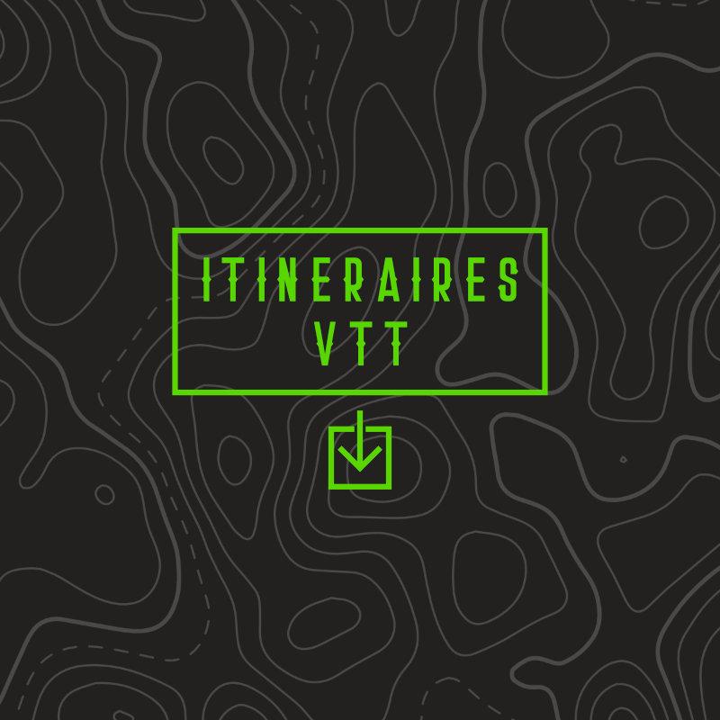 Carte et itinéraire VTT