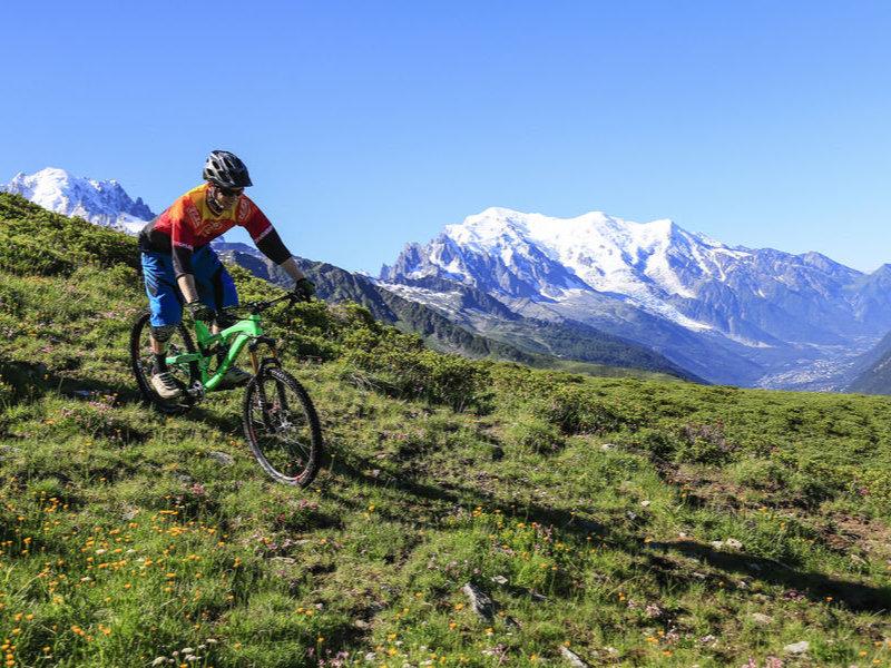 Chamonix VTT trail