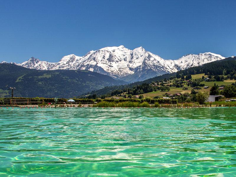 Combloux face au Mont-Blanc