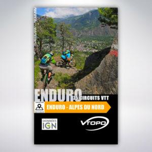 VTOPO Enduro VTT Alpes Du Nord
