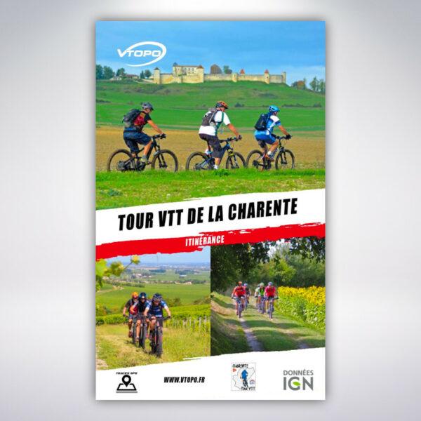 VTOPO Itinérance à VTT Tour de la Charente
