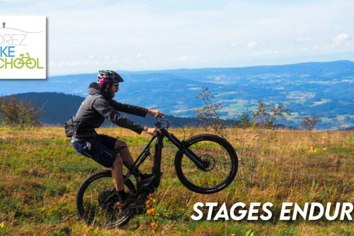 Stages VTT enduro aux Monts du Forez