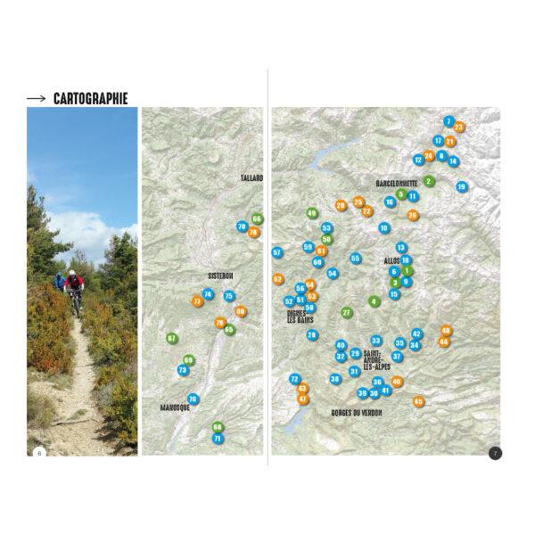 Détails Vtopo Alpes de Haute Provence