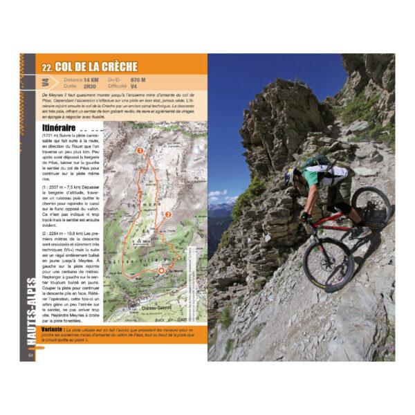 Détails Vtopo enduro Alpes du Sud